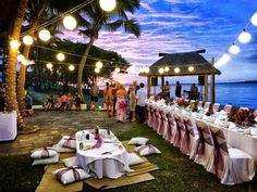 Setup by Paradise Bride at Sofitel Resort Fiji. Image Courtesy of HD-Video The Wedding Date, Elope Wedding, Our Wedding, Wedding Ideas, Best Wedding Venues, Wedding Receptions, Fiji, Resort Spa, Dolores Park