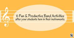 Although it's not ideal, we oftenmust have students turn in instruments early to take care of repairs, overhauls and inventory. Here are some ideas to keep your students engaged and learning. 1. Rock out with this Key Chant! Use this time of year to review theory. Another way to make theory review fun is to+ Read More
