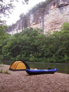 Love camping in a canyon!  Reminds me of Barron River in Algonquin