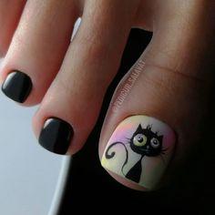 Pretty Toe Nails, Pretty Toes, Pedicure Nail Art, Toe Nail Art, Cute Toes, Hot Nails, Nail Arts, Natural Nails, Nail Designs
