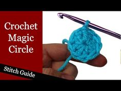 How to Crochet: Standing Double Crochet Stitch - an alternative joining method! - YouTube