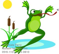 baby frog clipart Wall Painted Images