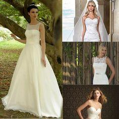 Wedding Dresses For Petite Brides - perfect wedding dress choices for a petite bride