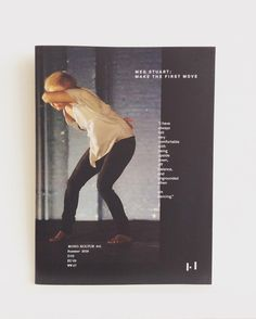 #Berlin #interview mag mono.kultur #41 features #choreographer & #dancer #megstuart #monokultur #damagedgoods