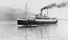 PRINCESS SOPHIA SS was stranded on Vanderbilt Reef in October 1918 during a storm, eventually sliding into deep water and killing all of the estimated 350 persons aboard. Description from wrecksite.eu. I searched for this on bing.com/images