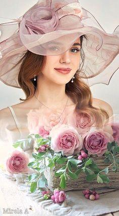 Beauty In Art, Elon Musk, Woman Painting, Female Art, Hats For Women, Still Life, Art Drawings, Glamour, Wallpaper