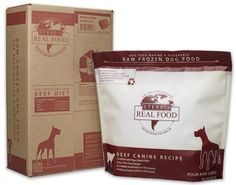 Beef Raw Dog Food is made from free range, antibiotic and hormone free beef. The organ and muscle meat are mixed together to create a high protein and fat diet, two critical ingredients for creating the energy a healthy active dog needs.