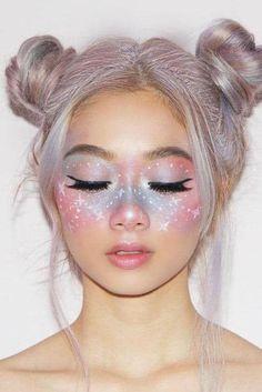 Fairy Make-up, Crazy Makeup, Cute Makeup, Gorgeous Makeup, Funny Makeup, Perfect Makeup, Fairy Fantasy Makeup, Fantasy Make Up, Fantasy Hair