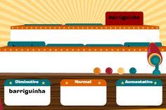 Jogo do Grau - Aumentativo e Diminutivo | Brinque neste jogo e aprenda as formas do aumentativo e diminutivo das palavras