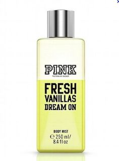 Victorias Secret Pink Fresh Vanillas Dream on Body Mist 8.4 fl.oz - http://www.theperfume.org/victorias-secret-pink-fresh-vanillas-dream-on-body-mist-8-4-fl-oz/
