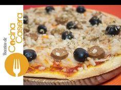 Masa de Pizza Sin Levadura   Recetas de Cocina Casera - Recetas fáciles y sencillas
