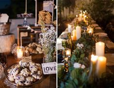 Love this simple yet tasteful centerpieces. this would be a great budget friendly option