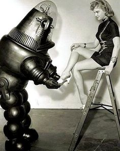 Anne Francis & Robby