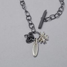 Pompom loopy necklace