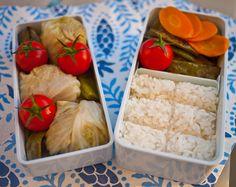 Bento no. 75: Make-ahead mini cabbage rolls