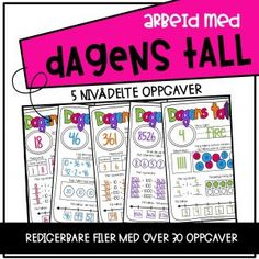 Dagens Tall Games, Gaming, Toys