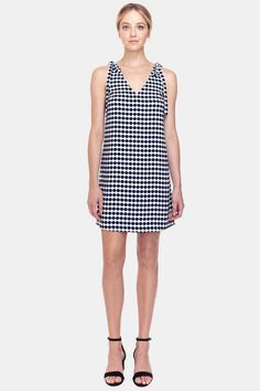 Gorgeous easy shift dress. Kamilly Bow Dress by Cooper & Ella. Clothing - Dresses - Mini Princeton New Jersey