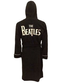 Beatles Classic Logo Drop T Bathrobe   Dressing Gown -   Official With Tag   0ecb5504f