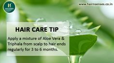 #TipOfTheDay How #aloevera is beneficial for Hair... http://hairnsenses.co.in/