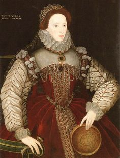 Another sieve portrait by George Gower Elizabeth