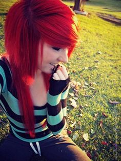 We've gathered our favorite ideas for Scene Beautiful Emo Girl Pretty Hair Red Cute Eye, Explore our list of popular images of Scene Beautiful Emo Girl Pretty Hair Red Cute Eye. Love Hair, Gorgeous Hair, Pretty Hairstyles, Girl Hairstyles, Scene Hairstyles, Cute Scene Girls, Red Scene Hair, Bright Red Hair, Colorful Hair