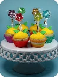 Bildergebnis für flower cupcake