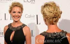 Madrinhas de casamento: Penteados para cabelos curtos
