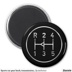 Sports car gear knob