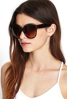 Oversized Square Sunglasses | FOREVER21 - 1055879723
