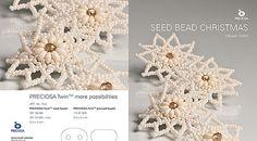 Cream Christmas stars