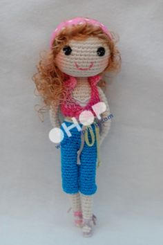 Miss Muffin crocheted doll by my mum | OHOPSHOP | We love handmade!