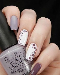 Purple and gray nail designs for Summer 2018 - Hairstyles 19