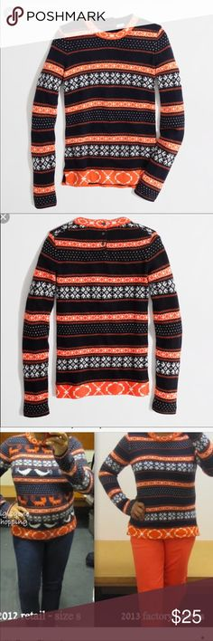 J.crew factory fair isle sweater | Fair isles, Flaws and Customer ...