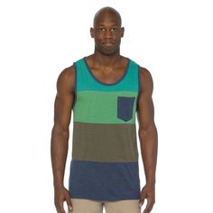 The prAna Lineage tank has big block of color that are ready for spring and summer to come to life!  #FairTrade #FathersDay #apparel