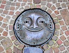 Ghibli Museum (Hayao Miyazaki)- Mitaka by Grissss, via Flickr   Japanese manhole covers http://www.flickr.com/groups/japanese_manhole_covers/