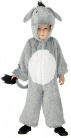 Kids donkey costume.  Disfraz de Burro infantil.