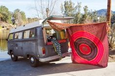 Urban Outfitters - On the Road (Photography by Magdalena Wosinska) Vw Camping, Road Photography, Wheels On The Bus, Gypsy Caravan, Happy Hippie, Vw T1, Volkswagen Bus, To Infinity And Beyond, Future Car