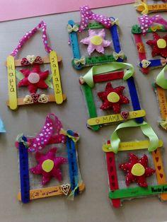 Καδρακια για τη γιορτή της μητέρας...Mothers day craft...