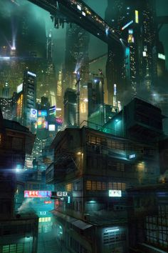 'Slums of Hong Kong' by Juriy Gvozdenko