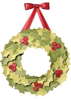 Holiday decor kids craft - decorate the kitchen with homemade kid crafts?