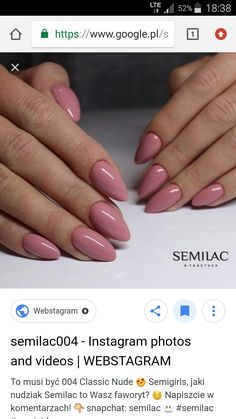 Semilac classic nude