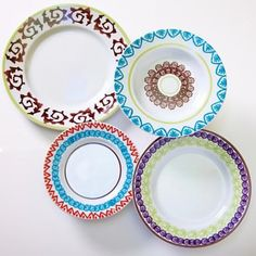 - Ginori Porcelain 4 Piece -