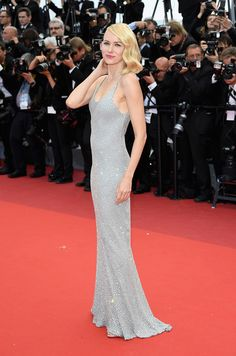 Naomi Watts en Michael kors. Cannes 2016