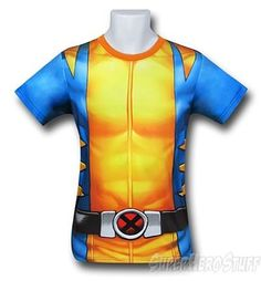 Wolverine Fitness T-Shirt- Sublimated Costume