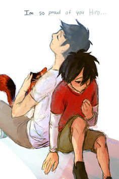 I'm so proud of you, Hiro....>>>> AWWW THE FEELS!!! I wish Tadashi were my brother!!!