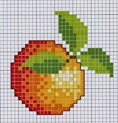 basket, tropical 6 letters, toyscouter fruits and vegetables, mango fruit socks, fruits basket volume dragon fruit shakes recipes. Cross Stitch Fruit, Cross Stitch Kitchen, Simple Cross Stitch, Cross Stitch Designs, Cross Stitch Patterns, Cross Stitching, Cross Stitch Embroidery, Graph Paper Art, Christmas Embroidery Patterns