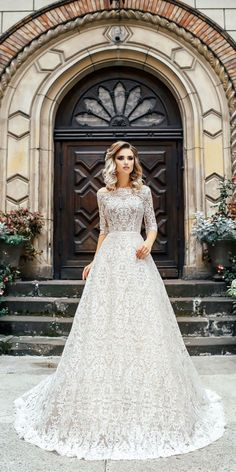 36 Vintage Inspired Wedding Dresses ❤️ Our gallery of vintage inspired wedding dresses will show you vintage romance with ancient bohemian spirit. If you are looking for something non-traditional, this is it. See more: http://www.weddingforward.com/vintage-inspired-wedding-dresses/ #weddingforward #bride #weddingdresses