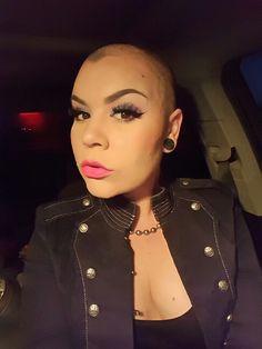 Kat hair shaved