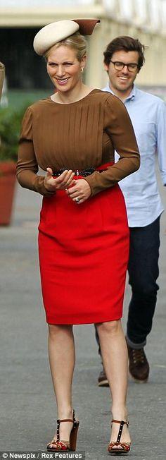 Zara Phillips  nackt