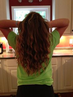 I am in love with my hair today!!!!!!